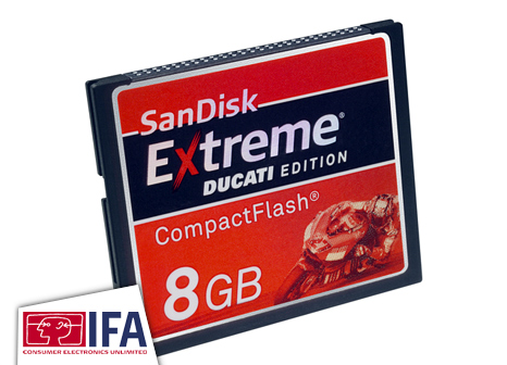 SanDisk Extreme Ducati CompactFlash
