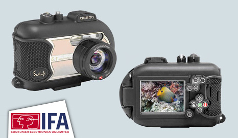 DC600 underwater digital camera
