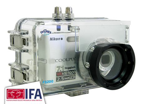 Fantasea FS200 & FS500 underwater housings