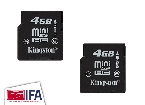 Kingston 4GB miniSDHC
