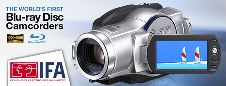 Blu-Ray camcorder